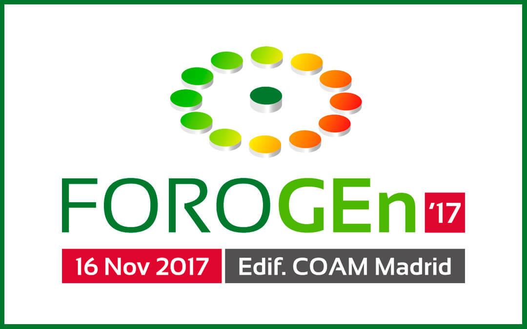 Foro Nacional de Gestión Energética – FOROGEn 2017