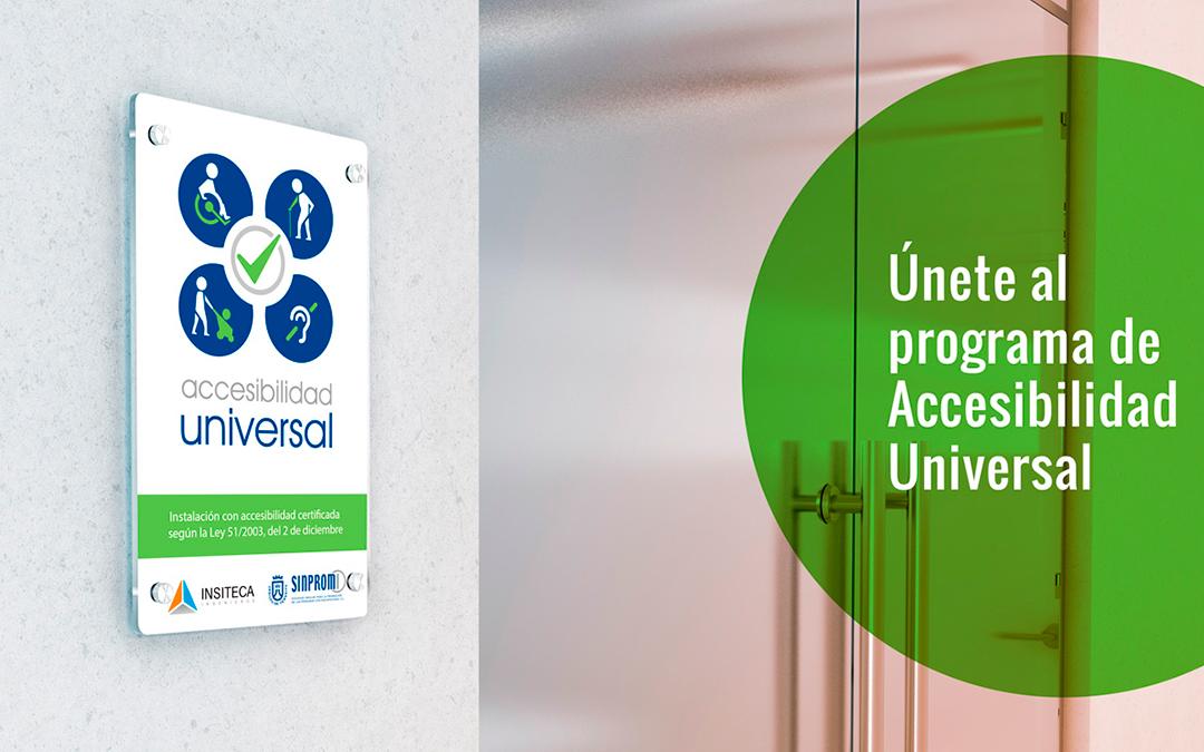 Colaboración con SINPROMI – Accesibilidad Universal