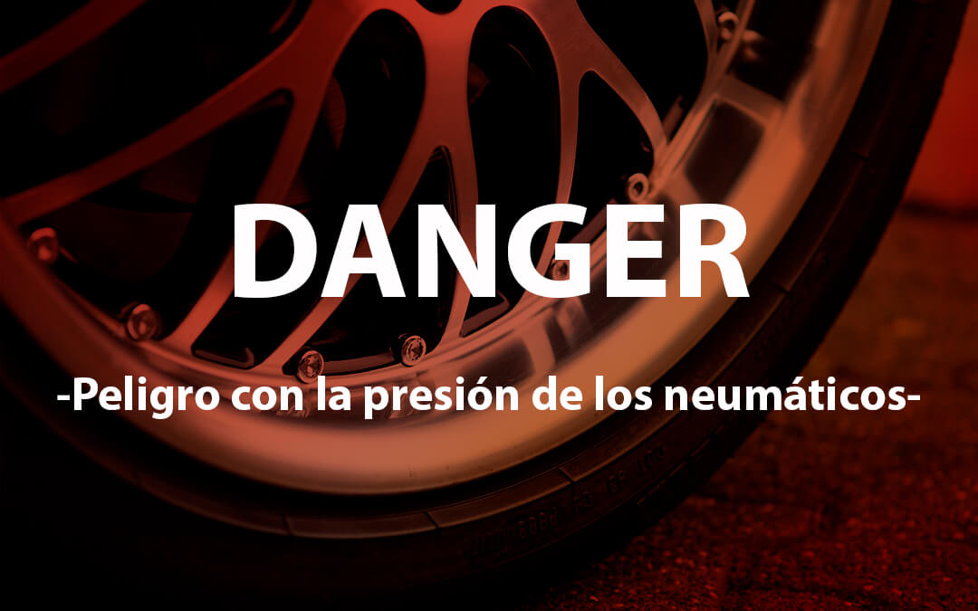 Evitar riesgos por presión en los neumáticos