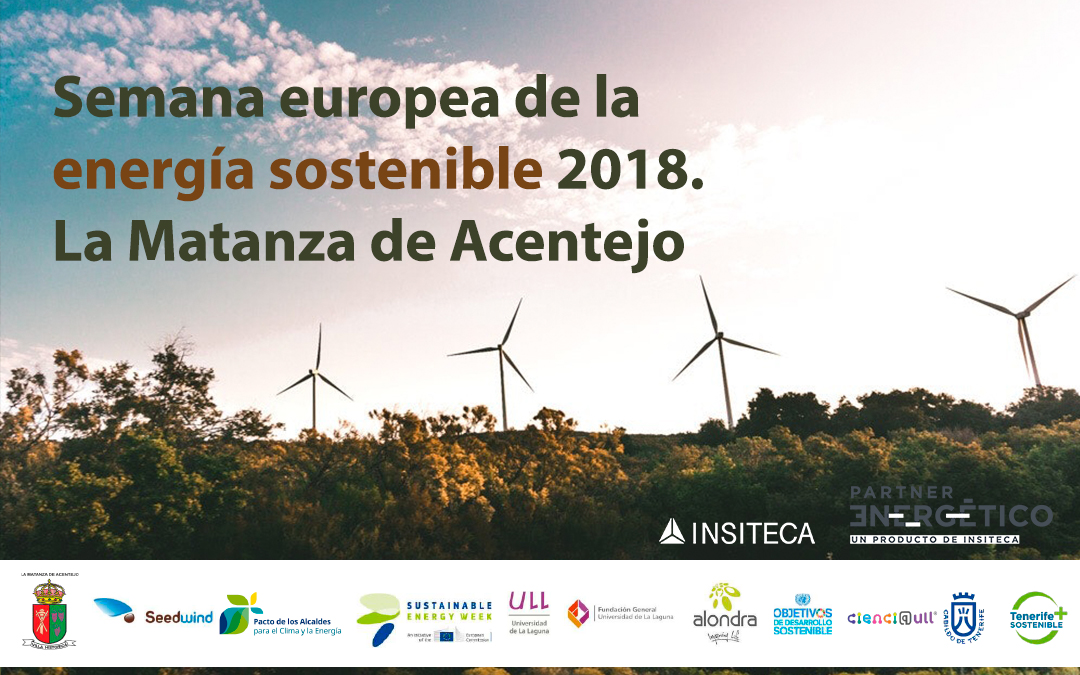Charla en la Semana Europea de la energía sostenible